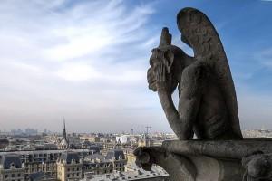 Гаргулью для собора Нотр-Дам-де-Пари восстановят при помощи 3D-печати