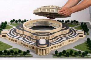 Как напечатать 3D архитектурный макет