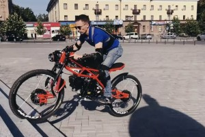 Украинец создает электровелосипеды на 3D-принтере