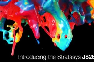 Stratasys расширил ассортимент цветных 3D-принтеров, выпустив Stratasys J826