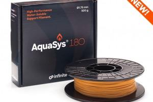 AquaSys 180 - новий водорозчинний опорний матеріал для термопластів
