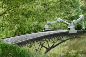 Уникальные мосты созданы при помощи 3D-печати