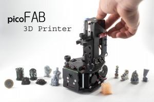 Lumi Industries представляет недорогой 3D-принтер PicoFAB