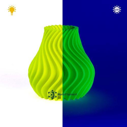 ABS ECO Жовтий Флуоресцентний