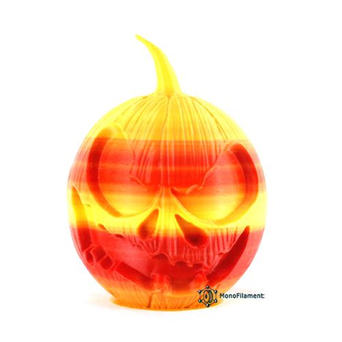 PLA  Градиент Желтый-Оранжевый- Красный