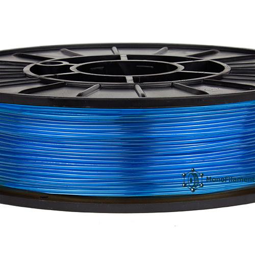 TPU 40D  Синій напівпрозорий