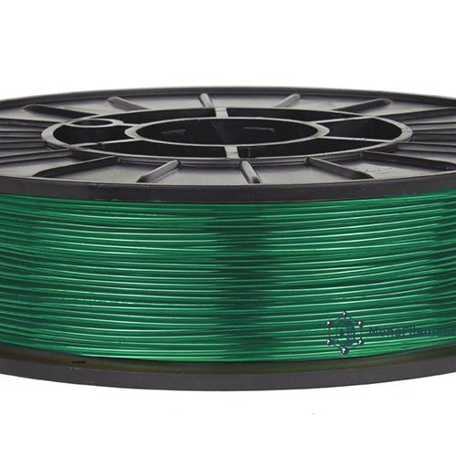 TPU 90A Зеленый полупрозрачный