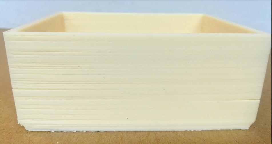 Деламинация ASA пластика для 3д печати